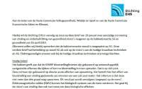 Brief aan 2e Kamer over 5G en gezondheid, 27 januari 2020