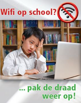 folder Wifi op School